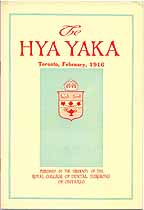 Thumbnail image of The Hya Yaka 1916 cover