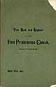 Thumbnail image of Baltimore First Presbyterian Church 1897 Register cover