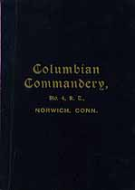 Thumbnail image of Columbian Commandery, No. 4, K. T., List of 1909 Members cover