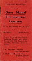 Thumbnail image of Otter Mutual Fire Ins. Co. 1920 Claims cover