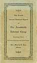 Thumbnail image of Arendtsville Reformed College 1929 Report cover