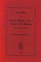Thumbnail image of Union Chapter No. 7 R.A.M. 1930 Members cover