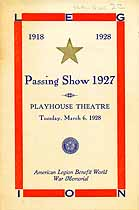Thumbnail image of Passing Show 1927 Program cover