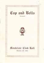 Thumbnail image of Cap and Bells Incorporated 1914 Program cover