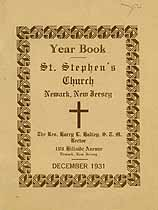 Thumbnail image of St. Stephen's Church 1931 Year Book cover