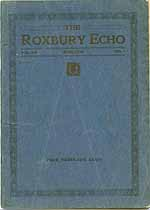 Thumbnail image of The 1918 Roxbury Echo cover