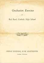 Thumbnail image of Red Bank Catholic High School 1931 Graduation cover