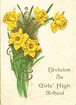 Thumbnail image of Division 3a, Girls' High School, 1910 Daffodil Dance cover