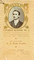 Thumbnail image of Church School 1900 - 1901 Souvenir cover