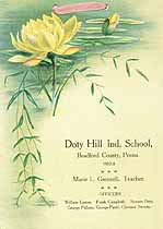 Thumbnail image of Doty Hill Ind. School 1907-8 Souvenir cover