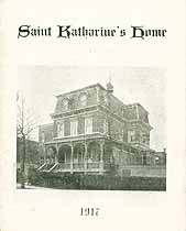 Thumbnail image of Saint Katharine's Home 1917 cover
