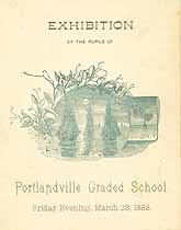 Thumbnail image of Portlandville Graded School 1888 Exhibition cover