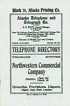 Thumbnail image of Alaska Telephone and Telegraph Directory cover