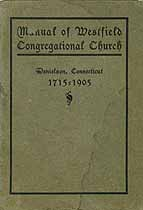 Thumbnail image of Westfield Congregational Church Members (1715 - 1905) cover