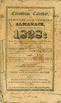Thumbnail image of The Troy N. Y. Columbian Calendar 1828 cover