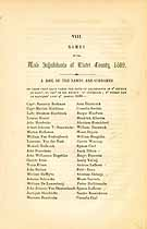 Thumbnail image of List of 1689 Ulster County Males cover