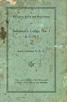 Thumbnail image of Solomon's Lodge No. 1 Roster of Members cover