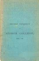 Thumbnail image of Storer College 1887-89 Catalogue cover