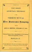 Thumbnail image of Vermont Mutual Fire Ins. 42nd Annual Report cover