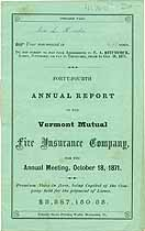 Thumbnail image of Vermont Mutual Fire Ins. 44th Annual Report cover