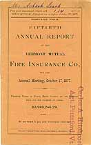 Thumbnail image of Vermont Mutual Fire Ins. 50th Annual Report cover