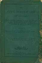 Thumbnail image of Canadian Civil Service List for 1887 cover