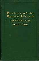 Thumbnail image of Exeter Baptist Church History (1800-1900) cover