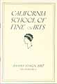 Thumbnail image of California School of Fine Arts 1927 Summer Staff cover