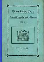 Thumbnail image of Hiram Lodge No. 1 Member List cover