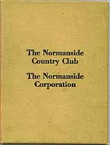 Thumbnail image of The Normanside Country Club 1931 Members cover