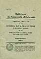 Thumbnail image of University of Nebraska 1916-17 Bulletin cover