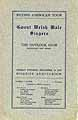 Thumbnail image of Gwent Welsh Male Singers 1913 Program cover