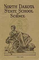 Thumbnail image of North Dakota State School of Science 1925 Catalogue cover