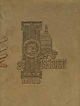 Thumbnail image of University of Missouri 1918 Commencement cover