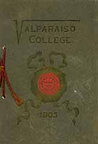 Thumbnail image of Valparaiso College 1903 Commencement cover