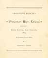 Thumbnail image of Princeton High School 1893 Graduation cover
