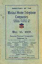 Thumbnail image of Mutual Home 1909 Telephone Directory cover