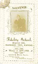 Thumbnail image of Fidelity School Winter 1899-1900 Souvenir cover