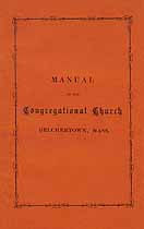 Thumbnail image of Belchertown Congregational 1891 Church Manual cover