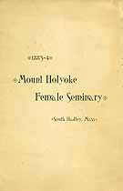 Thumbnail image of Mt. Holyoke Female Seminary 1884 Catalogue cover