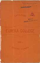 Thumbnail image of Eureka College 1887 Catalogue cover