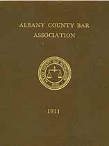 Thumbnail image of Albany County Bar Association 1911 Members cover