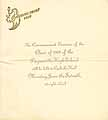 Thumbnail image of Paynesville High School 1909 Commencement Program cover
