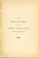 Thumbnail image of Princeton Men Residing in NYC cover
