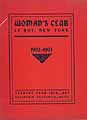 Thumbnail image of Le Roy Woman's Club 1902-1903 cover