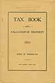 Thumbnail image of Barrington Town 1911 Tax Book cover