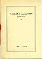 Thumbnail image of Newark Academy, April, 1928 cover