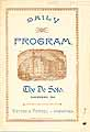 Thumbnail image of The De Soto Daily Program 1894-95 cover