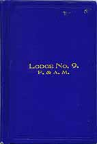 Thumbnail image of Lodge No. 9, F. & A. M. 1914 Roster cover