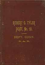 Thumbnail image of Robert O. Tyler Post No. 50 GAR 1885 Roster cover